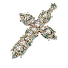 vatican jewelry papal cross antique diamond cross vatican antiques m s rau