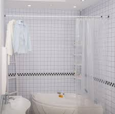 amazon com allzone tension shower curtain rod medium 42 81 amazon com allzone tension shower curtain rod medium 42 81 inches never fall off rust free steel home kitchen