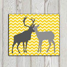 shop yellow and grey chevron decor on wanelo