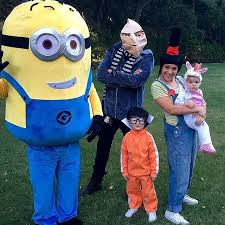 Despicable Halloween Costumes Toddler 47 Celeb Bebes Images Celebrity Halloween