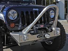 jeep stinger bumper genright offroad jk boulder stinger front bumper aluminum