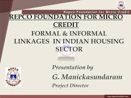 Formal Credit And Informal Credit ppt repco foundation for micro credit powerpoint presentation id