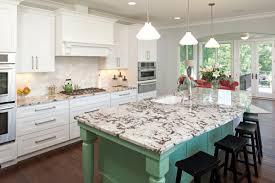 Kitchen Island Construction How To Bring Color Into A Kitchen Design Colorful Kitchens