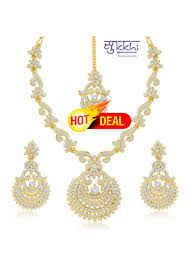 necklace set images images Buy sukkhi incredible gold plated australian diamond stone studded jpg
