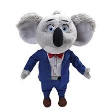 Singing Stuffed Animals Gund Sing Buster Moon Koala Stuffed Animal Toys