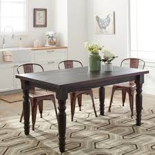 Rustic Dining Room  Kitchen Tables Shop The Best Deals For Sep - Rustic kitchen tables