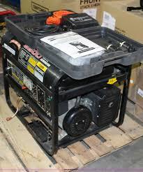 american camper 6 500 watt generator item ak9300 sold a