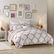 lauren conrad floral trellis comforter set