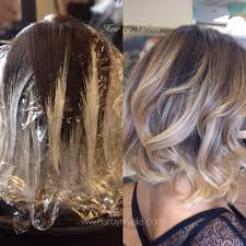 balayage technique balayage before and after balayage in denver
