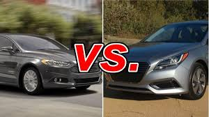 toyota camry hybrid vs hyundai sonata hybrid ford fusion hybrid vs hyundai sonata hybrid carsdirect