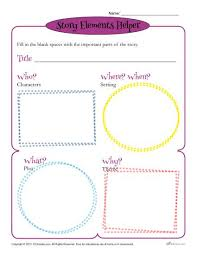 story elements worksheets 2nd grade free worksheets library