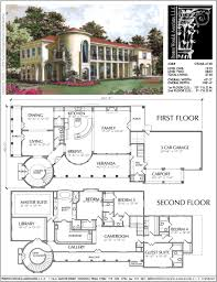 mediterranean home plan ac9268 floor plans pinterest house