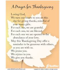 thanksgiving prayers preschool thanksgiving blessings
