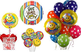 get well soon and balloons get well soon balloons get well balloon bouquets cheer up