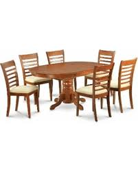6 pc dinette kitchen dining room set table w 4 wood chair surprise 10 off 7 piece dining room set oval dinette table with