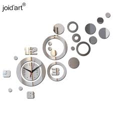 special offer 2017 sale rushed quartz wall clocks acrylic diy 3d