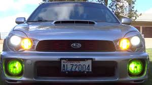 subaru bugeye hid bugeye morette headlights modded wrx sti 2002 youtube