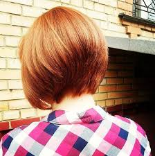 back of hairstyle cut with layers and ushape cut in back 22 cute graduated bob hairstyles short haircut designs popular
