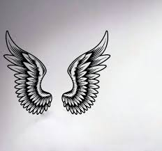 wall ideas wooden angel wings wall decor pair huge french