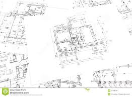 stock floor plans architectural construction documents and floor plans stock photo