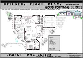 3 Bedrooms House Plans Designs Glamorous Single Story House Plans With 3 Bedrooms Ideas Best