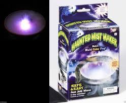 halloween strobe light with sound fog cauldron mist mister maker smoke machine party stage effects