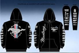ford mustang jacket ford mustang black hoodie zip sweatshirt jacket screen