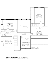3 Bedroom 2 Story House Plans House Plan 2657 C Longcreek