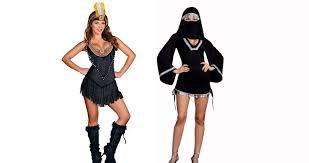Distasteful Halloween Costumes Offensive U0027 Halloween Costumes Strike Nerve Public