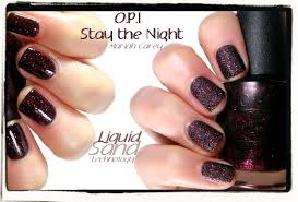 opi stay the night liquid sand nailderella