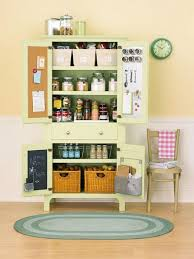Kitchen Pantry Ideas For Small Spaces Rustic Wooden Kitchen With Unique Opening Design Kitchen Pantry