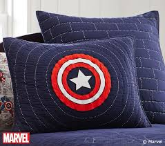 Captain America Bedroom by Captain America Quilt Pottery Barn Kids