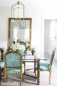 dining room zebra chairs