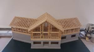 built a framing model of a house 3 600 sq feet edited album