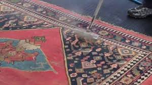 Watch As We Wash An Antique Rug Youtube