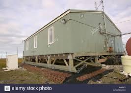 eskimo house built above the permafrost on shishmaref alaska a