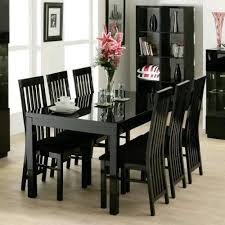 Black Gloss Dining Table And 6 Chairs 20 Best Black Gloss Dining Tables Dining Room Ideas
