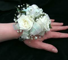 Teal Corsage All About Teal Wrist Corsage Flowers From The Heart