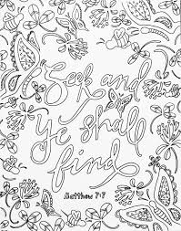 scripture coloring page coloring meditation