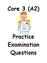 core 3 question booklet edexcel mr slack pdf trigonometric