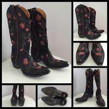 gringo womens boots size 11 47 shoes sale gringo boots with pink roses size 7b