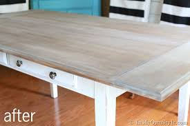 Weathered Wood Coffee Table Furniture Makeover Weathered Driftwood Furniture Finish In My
