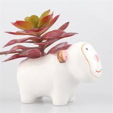 home design popular white ceramic flower pot buy cheap