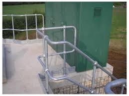 Tubular Handrail Standards Industrial Steel Handrails Steelway