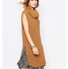 womens sweater vest womens cowl neck sweater for winter pullover sweater vest