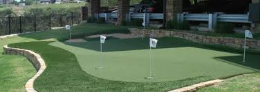 backyard putting green andover ma sport court new england