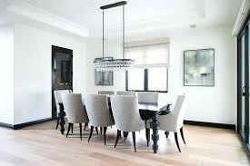 Robert Bling Chandelier Robert Oval Bling Chandelier Black Dining Table With