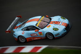 gulf car jono lester signs with iconic gulf racing team for porsche tilt in