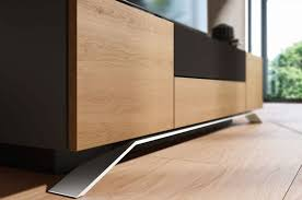 console tables long modern wood media console table low profile