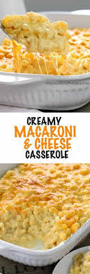 macaroni and cheese casserole spend with pennies